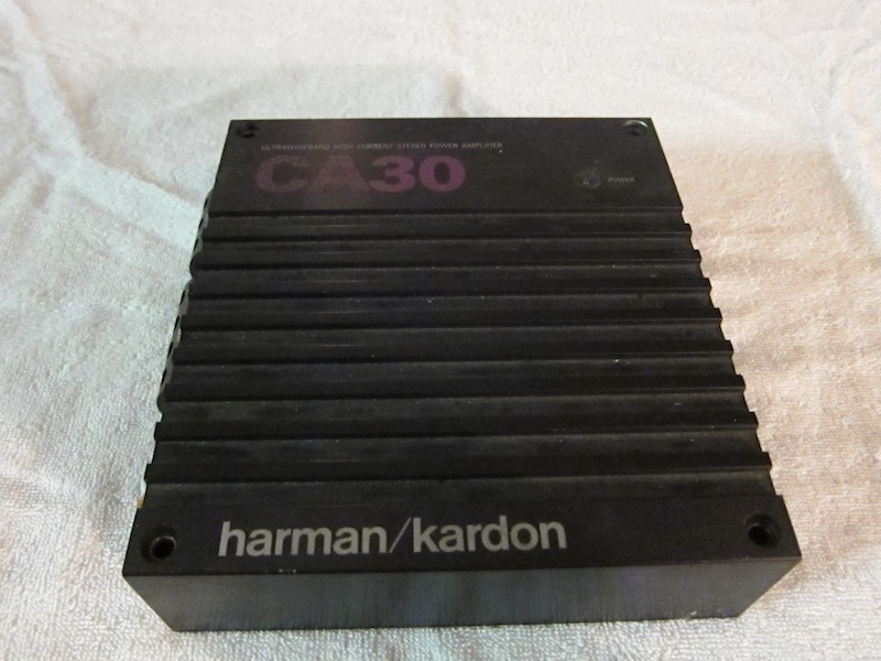 Harman Kardon Car Audio: Audison 6-channel RCA's And Vintage Harman/Kardon CA-30